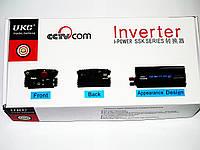 Инвертор преобразователь напряжения Power Inverter UKC 12V-220V 2000W Black, фото 6