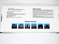 Инвертор преобразователь напряжения Power Inverter UKC 12V-220V 2000W Black, фото 7