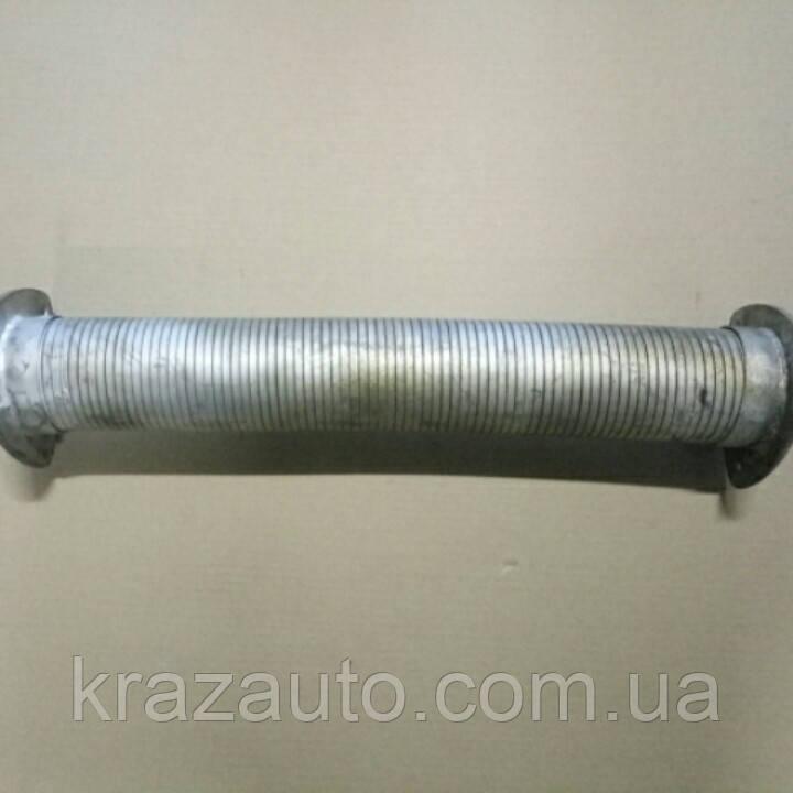 Металлорукав КрАЗ МАЗ с фланцами (гофра) 509-1203024