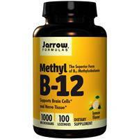 Витамин B12,Jarrow Formulas, с лимонным вкусом, 1000 mcg, 100 леденцов