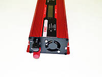 Инвертор преобразователь напряжения Power Inverter UKC 2000W KC-2000D с LCD дисплеем, фото 3