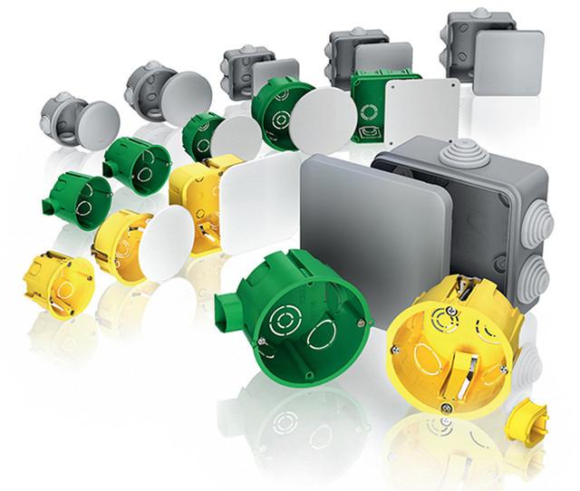 Монтажные коробки установочные, распределительные (Schneider Electric, Свитязь)