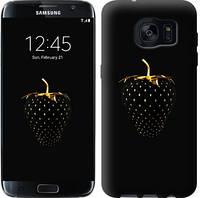 "Чехол на Samsung Galaxy S7 Edge G935F Черная клубника ""3585c-257-481"""