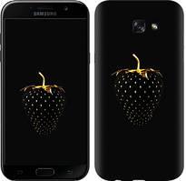 """Чехол на Samsung Galaxy A7 (2017) Черная клубника """"3585c-445-481"""""""
