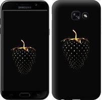 """Чехол на Samsung Galaxy A5 (2017) Черная клубника """"3585c-444-481"""""""