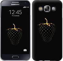 "Чехол на Samsung Galaxy E5 E500H Черная клубника ""3585c-82-481"""