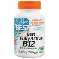 Активный витамин В 12, Doctor's Best,  1500 мкг, 60 капсул
