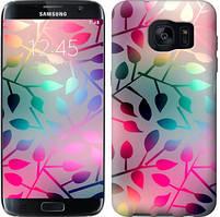 "Чехол на Samsung Galaxy S7 Edge G935F Листья ""2235c-257-481"""