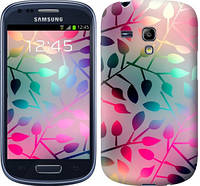 "Чехол на Samsung Galaxy S3 mini Листья ""2235c-31-481"""