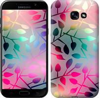 """Чехол на Samsung Galaxy A5 (2017) Листья """"2235c-444-481"""""""