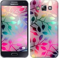 """Чехол на Samsung Galaxy E5 E500H Листья """"2235c-82-481"""""""