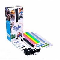 3D-ручка 3Doodler Create для проф. использования - ЧЕРНАЯ (50 стержней из ABS-пластика, аксессуары)