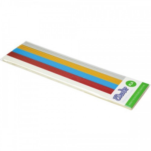 Набор стержней из PLA-пластика для проф. исп. с 3Doodler Create - МЕТАЛЛИК 25 шт металлик PL-MIX4