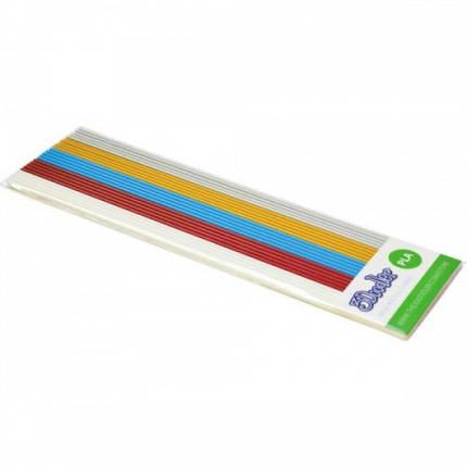 Набор стержней из PLA-пластика для проф. исп. с 3Doodler Create - МЕТАЛЛИК 25 шт металлик PL-MIX4, фото 2