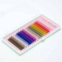 Цветные ресницы Nagaraku С 0.12-10 мм
