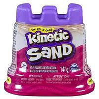Песок для детского творчества - KINETIC SAND МИНИ КРЕПОСТЬ (розовый,141 г) 71419Pn