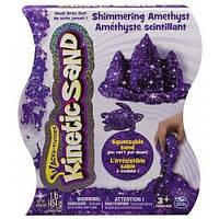 Песок для детского творчества - KINETIC SAND METALLIC (фиолетовый, 454 г)