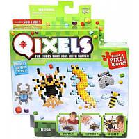 Игровой набор аквамозаики из пикселей - ЖУКИ (500 фишек, спрей, шаблоны, аксессуары) 87042
