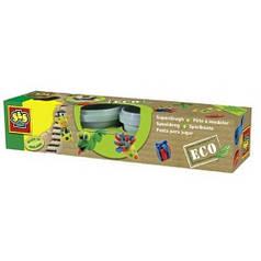 Незасыхающая масса для лепки серии Эко - КЛАССИК 4 цвета, в пластиковых баночках Ses Creative 24911S