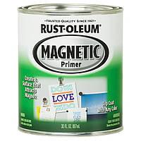 Магнитная краска-грунт, Magnetic Primer, темно-серая, 0.887 litre, Rust Oleum
