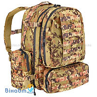 Рюкзак Defcon 5 Full Modular Molle Pockets 60 Vegetato Italiano
