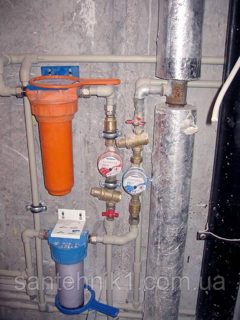 Замена труб в квартире в ванной комнате Киев