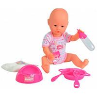 Кукла-пупс девочка с аксессуарами, 38 см, New Born Baby 503 2533