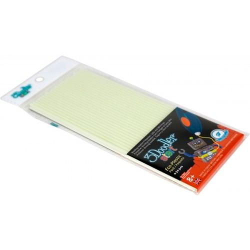 Набор стержней что светятся в темноте для 3D-ручки 3Doodler Start 3Doodler 3DS-ECO09-GLOW-24
