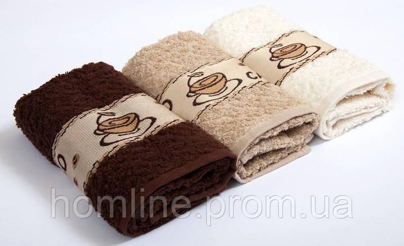 Набор махровых полотенец Vevien Coffee