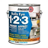 Универсальный акриловый грунт, Bulls Eye 1 2 3, белый, 0.946 litre, Zinnser