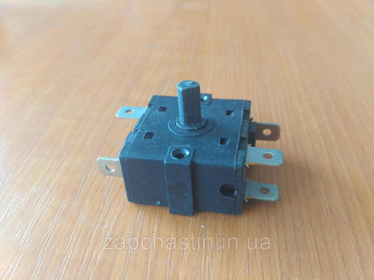 Перемикач обігрівача 16А, 250V, 5 контактів / 4 позіціі