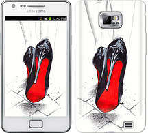 "Чехол на Samsung Galaxy S2 Plus i9105 Devil Wears Louboutin ""2834c-71-481"""