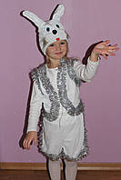Детский карнавальный костюм Зайчика