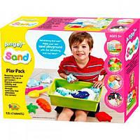 Ласковый песок Play Pack, 2 цвета - набор для лепки, Angel Sand, Donerland