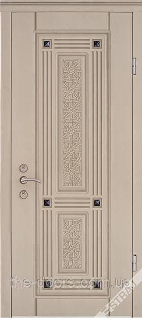 Двері вхідні STRAJ модель Экриз 3D патина