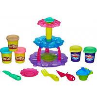 Башня из кексов - набор для творчества с пластилином, Play-Doh