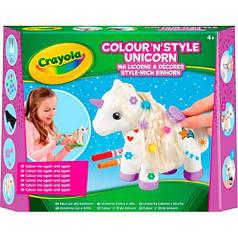Набор для творчества с фломастерами Единорог, Crayola 93020