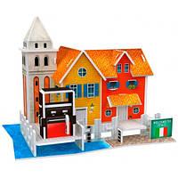 Трехмерная головоломка-конструктор Италия: Верфь. CubicFun
