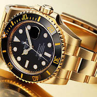 Часы Rolex Submariner Gold and Black