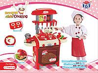 Детская игровая кухня TY8018R. С крана течет вода.