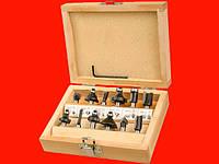 Miol 22-550 набор профильных фрез по дереву для электрофрезера
