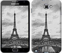 "Чехол на Samsung Galaxy Note i9220 Чёрно-белая Эйфелева башня ""842u-316-481"""