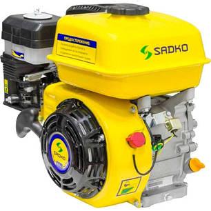 Двигатель бензиновый Sadko GE-200 PRO (шлицевой вал), фото 2