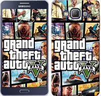 """Чехол на Samsung Galaxy A7 A700H GTA 5. Collage """"630c-117-481"""""""