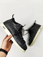 Мужские зимние ботинки Native Fitzssimons (Родной Фицсиммонс) черно-белые