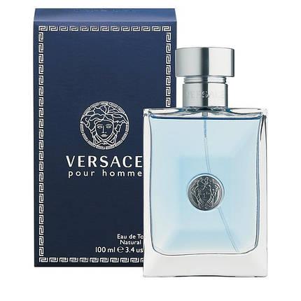 Мужская туалетная вода Versace Pour Homme  (Версаче Пур Хом), фото 2