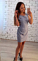 Платье в мелкую полосочку 19770