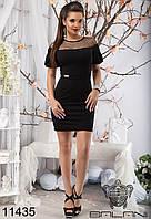 Вечернее Женское, модное, праздничное, короткое Платье от производителя  -  11435 р-р S   M   L   XL