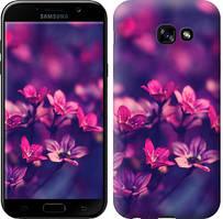 "Чехол на Samsung Galaxy A5 (2017) Пурпурные цветы ""2719c-444-481"""