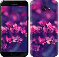 "Чехол на Samsung Galaxy A7 (2017) Пурпурные цветы ""2719c-445-481"""